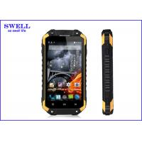 16GB Ram Storage Waterproof Ruggedized Android Phone 13mp Camera / Front 5.0MP