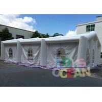 China 20X10X6M Size Outdoor Inflatable Party Tent with 0.55mm PVC Material wholesale