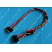 China 22 Pin SATA Extension Cable with Converter 5V to 3.3V For Power wholesale
