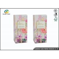 Quality Colorful Luxury Packaging Boxes , Small Cosmetic Boxes For Perfume Display for sale