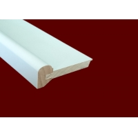 China Small 2400mm Decorative Wooden Mouldings PU Polyurethane Material wholesale