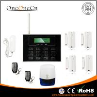 China GSM LCD Touch Keypad Diy Home Alarm Systems Support the Door Bell wholesale