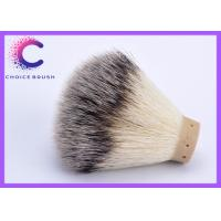 China silver tip shaving brush knots shaving brush knot/wholesale badger hair synthetic knots wholesale