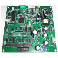China Full Electronics Turkey Assembly PCBA FR4 material HAL Surface Finishing Thickness Green Solder Mask wholesale