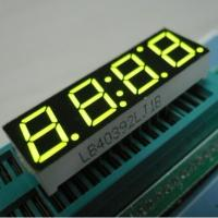 China Red Yellow 7 Segment LED Display 4 Digit For Timer Clock 500MM wholesale