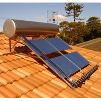 China 240L 24 Tubes Compact Heat  Pipe  High Pressurized Solar Water Heater For Slope Roof wholesale