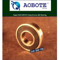 Quality Single Row NSK Ball Bearings R8VVC3 High Speed , VV Seal Type for sale