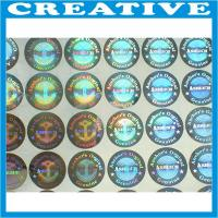 China Factory wholesale price 3D vision effect hologram laser label stickers wholesale