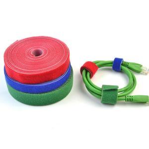 China Resuable Nylon Double Sided Tape Custom Logo On Hook Side wholesale