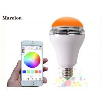 China Wireless Color Changing LED Lamp Speaker D80*H135 Mm With Remote Controller on sale