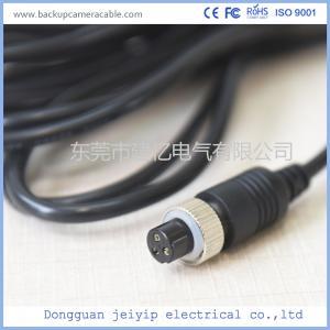 China Customized 3 Pin Backup Camera Cable , PVC Jacket Backup Camera Extension Cable wholesale