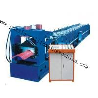 China 7.5Kw Tile Roof Ridge Cap Roll Forming Machine 0.3mm - 0.7mm for Steel Prefab House wholesale