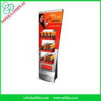 China Point of sale store display stand Promotion advertising cardboard beauty products display stand wholesale