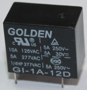 9V 12V 24V 48V Electromechanical Relay with UL TUV CQC Compliant