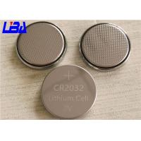 Quality Durable Lithium Button Batteries Green Power 240mAh 3v For Electric Toys for sale