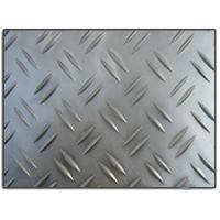 China Anti - skid 2 bars 3003 alloy h254 embossed aluminum sheet for auto parts wholesale