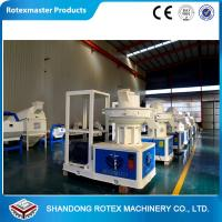 China CE Certificate Ring Die Saw dust Pellet Making Machine , wood pellets maker wholesale