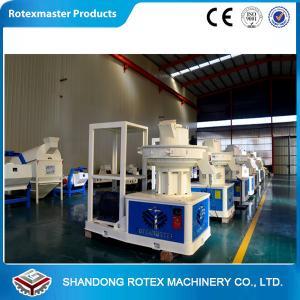 China Vertical Ring Die Wood Pellet Machine , Wood Pellet Press Machine Capacity 1-1.5T / H wholesale