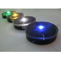 China Remote Controlled Plastic Solar Cycle Way Road Markers With Synchronized Flash wholesale