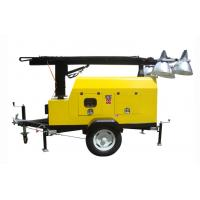 China All-direction Truck type Light Tower For Petroleum Industry / Railway Emergency wholesale
