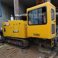 China Yellow Color 32 Tons Horizontal Directional Drilling Rigs 0-140RPM Spindle Speed wholesale