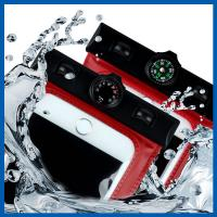 China Iphone 6 6s Cell Phone Accessory Waterproof Phone Bag Case Pouch With Compass wholesale