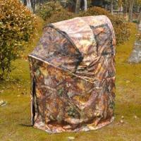 China Pro Hunting Chair One Man Ground Blinds Real Tree Camo Tent for Deer Turkey , Duck wholesale