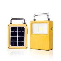 China LED Rechargeable Floodlight Solar Powered Floodlight USB Type C Charging 5V 2A Indoor Outdoor Emergency Lighting wholesale