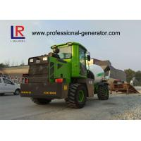 China 4 Cubic Meters Concrete Mixer Truck , Water Tank Capacity 660L wholesale