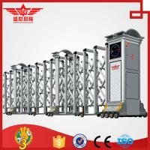 China Residential aluminum doors external gate expandable barrier door -L1521 wholesale