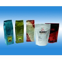 China Color Printed Packaging Coffee Bags with Degassing Valve on sale