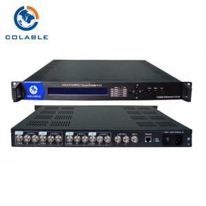 China 4 Channel AV To IP Encoder COL5141BP , TV Headend Digital Video Encoder wholesale