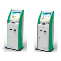 "China 19"" Touch Panel Health Care Multimedia Kiosk For Supermarket , Theatre , Subways wholesale"