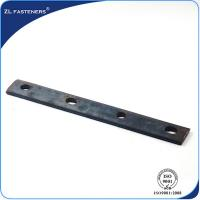 China Fastener Carbon Steel Railway Track Fish Plate For Railroad Construction wholesale