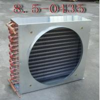 China Fin Tube Evaporative Air Conditioning Heat Exchanger Air Cooled Condenser With Copper Tube wholesale
