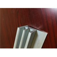 China Powder Coated / Electrophoresis 6063 / 6061 Aluminium Channel Profiles wholesale