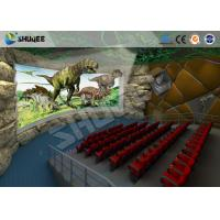 China Large 360 Degree Screen 4D Movie Theater With 4D Simulator Can Hold 60-100 People wholesale