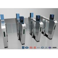 China Waist Height Turnstile Security Systems , Face Recognition Speed Fastlane Turnstile on sale
