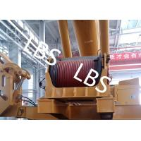 China Electric / Hydraulic Crawler Crane Winch Crane Windlass Groove Drum wholesale