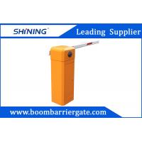 China 80 W AC Straight Arm Parking Lot Barrier Gate , Security Car Boom Barriers wholesale