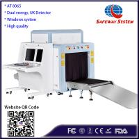 China UK Detector Luggage X Ray Security Scanner For Checking Pallet AT8065 wholesale