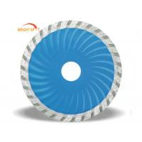 "China 4"" - 8"" Dry Cut Segmented Diamond Blade Stone Cutting With Ti Coated Finishing wholesale"