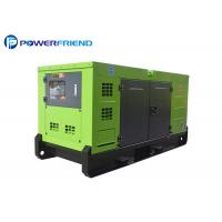 Quality ISO CE Certified 20kw Silent Running Diesel Generators With FAWDE Engine for sale