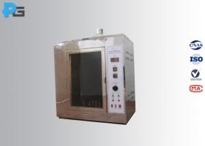 China IEC60695-2-20 Hot Wire Ignition Test Apparatus , Fire Hazard Testing Equipment wholesale