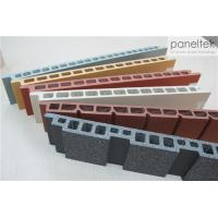 China Building Facade Clay Tile Wall Cladding Anti - Cold With Self - Cleaning System wholesale