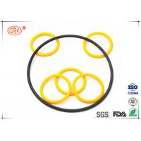 China Buna O Rings Yellow Fuel And Oil Resistant  Abrasion Resistance For Automotive wholesale