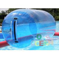 China Clear Inflatable Walking Ball With Germany Zipper 1mm PVC TPU wholesale