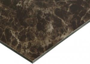 China RoHS Indoor Decoration 3mm Marble Aluminum Composite Panel wholesale