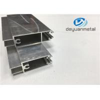 China GB 5237-2008 Mill Finished Aluminium Door Frames 6000 Series Aluminium Door Profiles wholesale