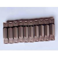 China Good Toughness Carbide Threading Inserts , Face Grooving Inserts For Hard Metal on sale